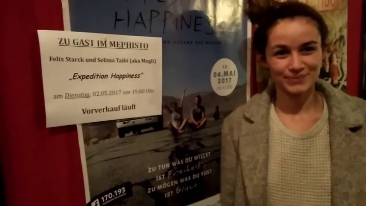 Zu Gast Selima Taibi: EXPEDITION HAPPINESS