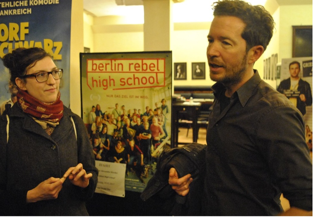 Foto 1 Gast: Regisseur Alexander Kleider. BERLIN REBEL HIGH SCHOOL