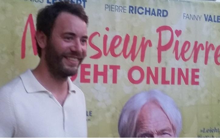 Gast: Hauptdarsteller Yaniss Lespert. MONSIEUR PIERRE GEHT ONLINE