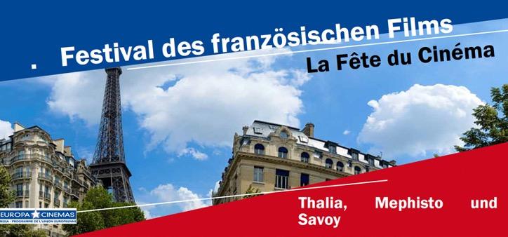 LA FETE DU CINEMA 2017 - Festival des französischen Films