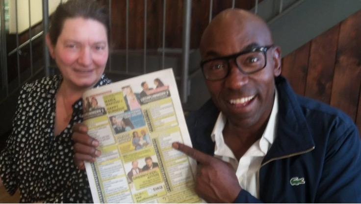 Lucien Jean-Baptiste zu Gast: ZUM VERWECHSELN ÄHNLICH