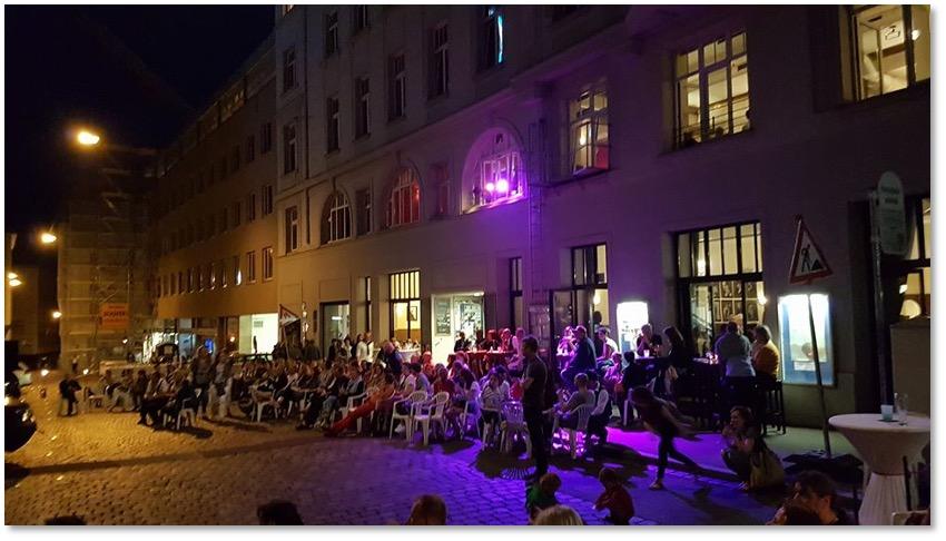 Lange Kunstnacht und Cinema Paradiso