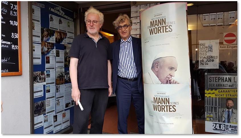 Zu Gast ist Wim Wenders.