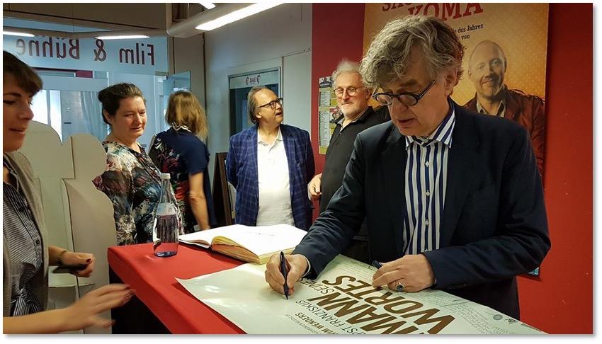 Foto 2 Zu Gast ist Wim Wenders.