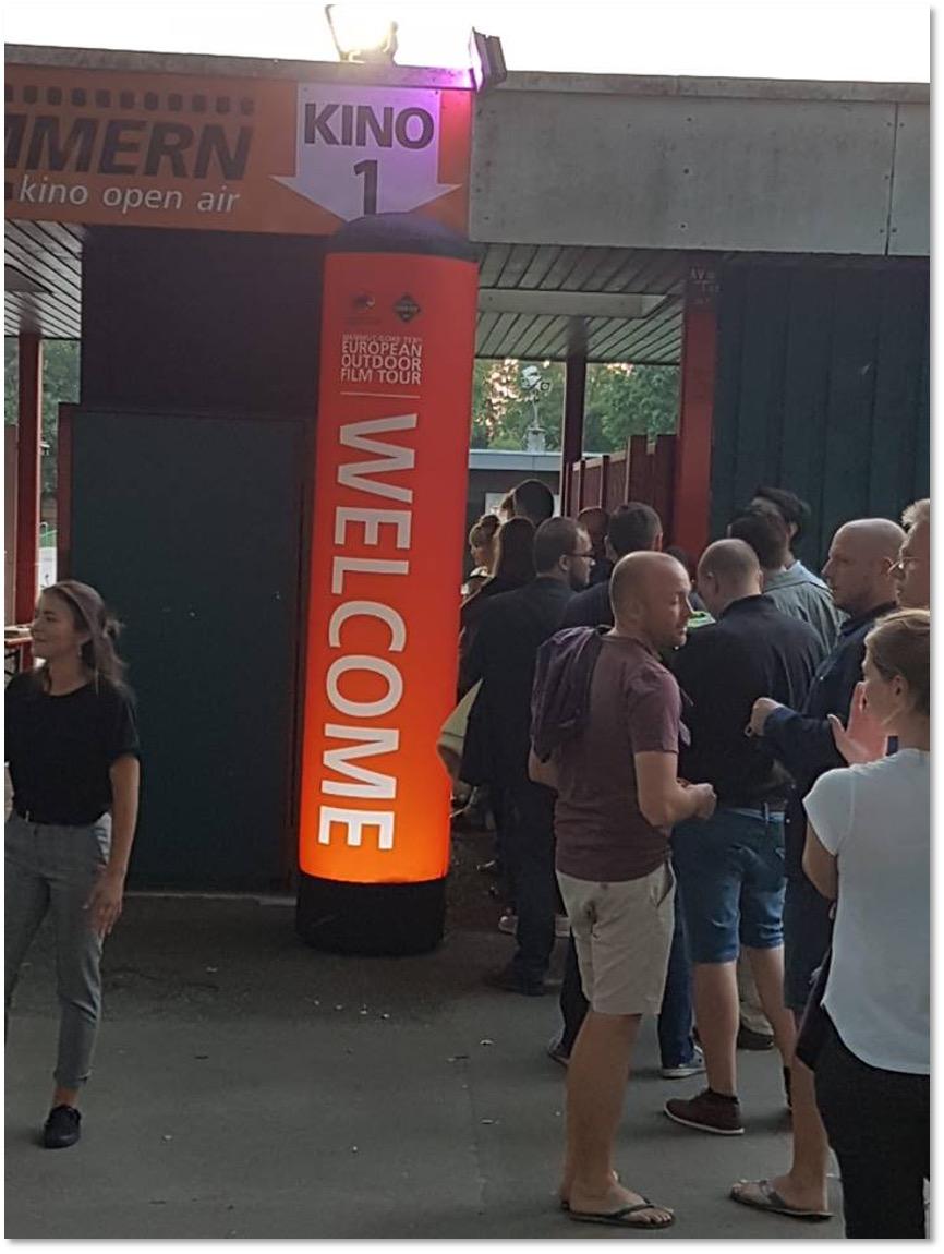 European Outdoor Film Tour 2018
