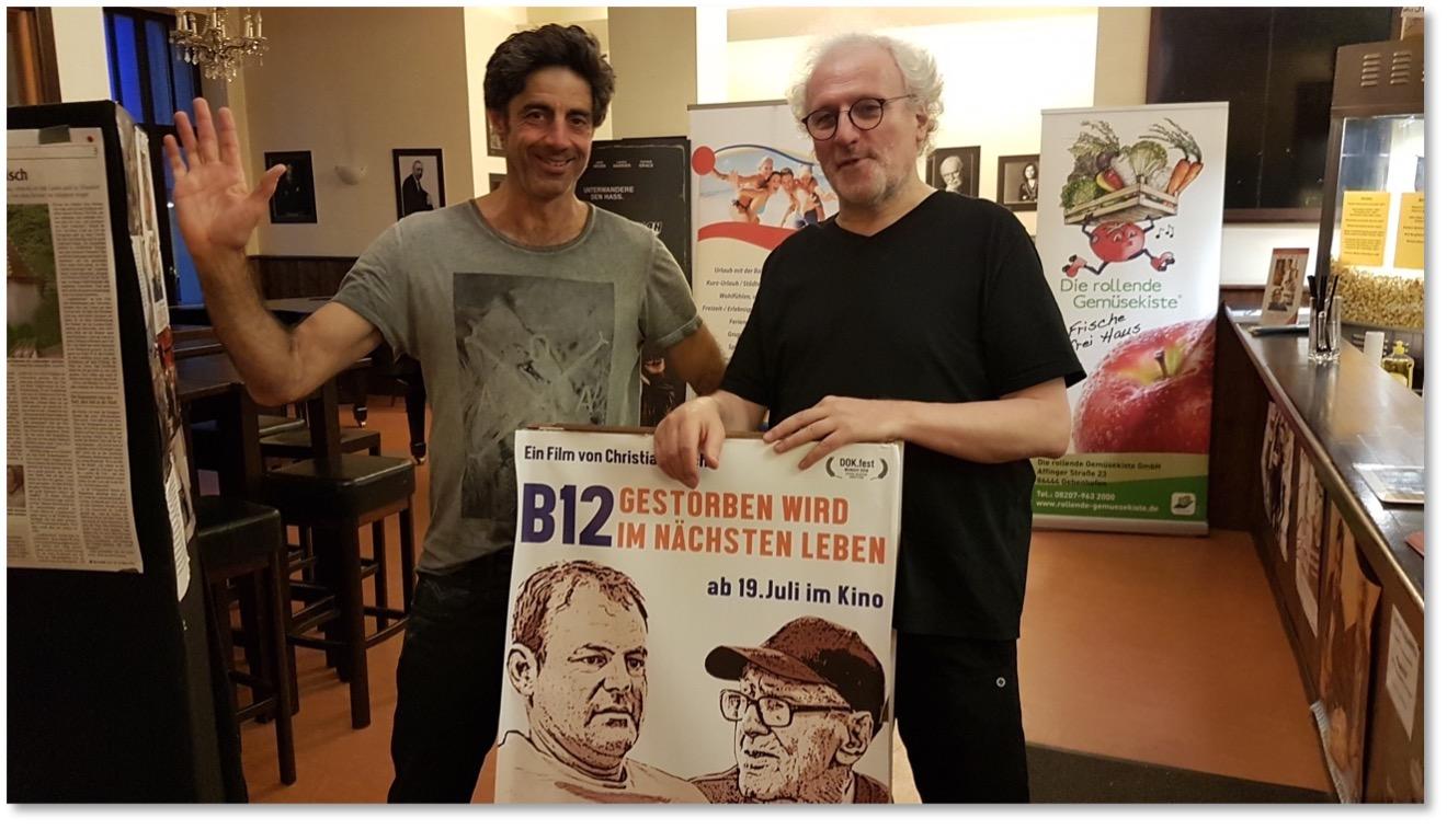 Zu Gast: Regisseur Christian Lerch. B12 - Gestorben wird im nächsten Leben