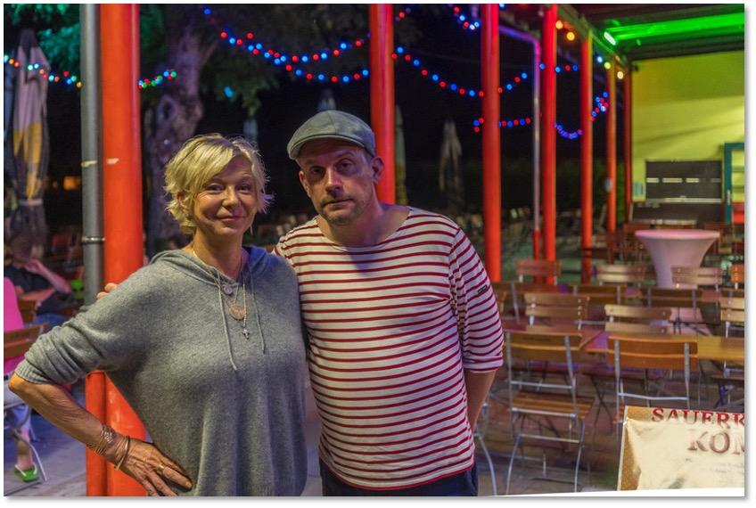Sebastian Bezzel & Autorin Rita Falk zu Gast