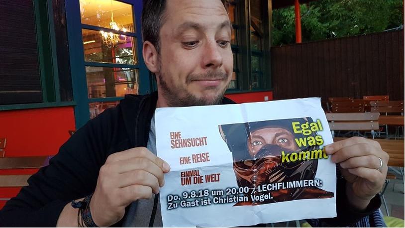 Globetrotter und Regisseur Christian Vogel zu Gast
