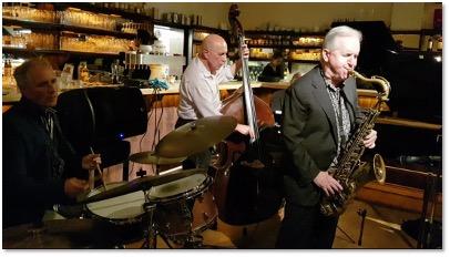 Live: Scott Hamilton & Bernhard Pichl Trio