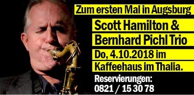 Foto 2 Live: Scott Hamilton & Bernhard Pichl Trio