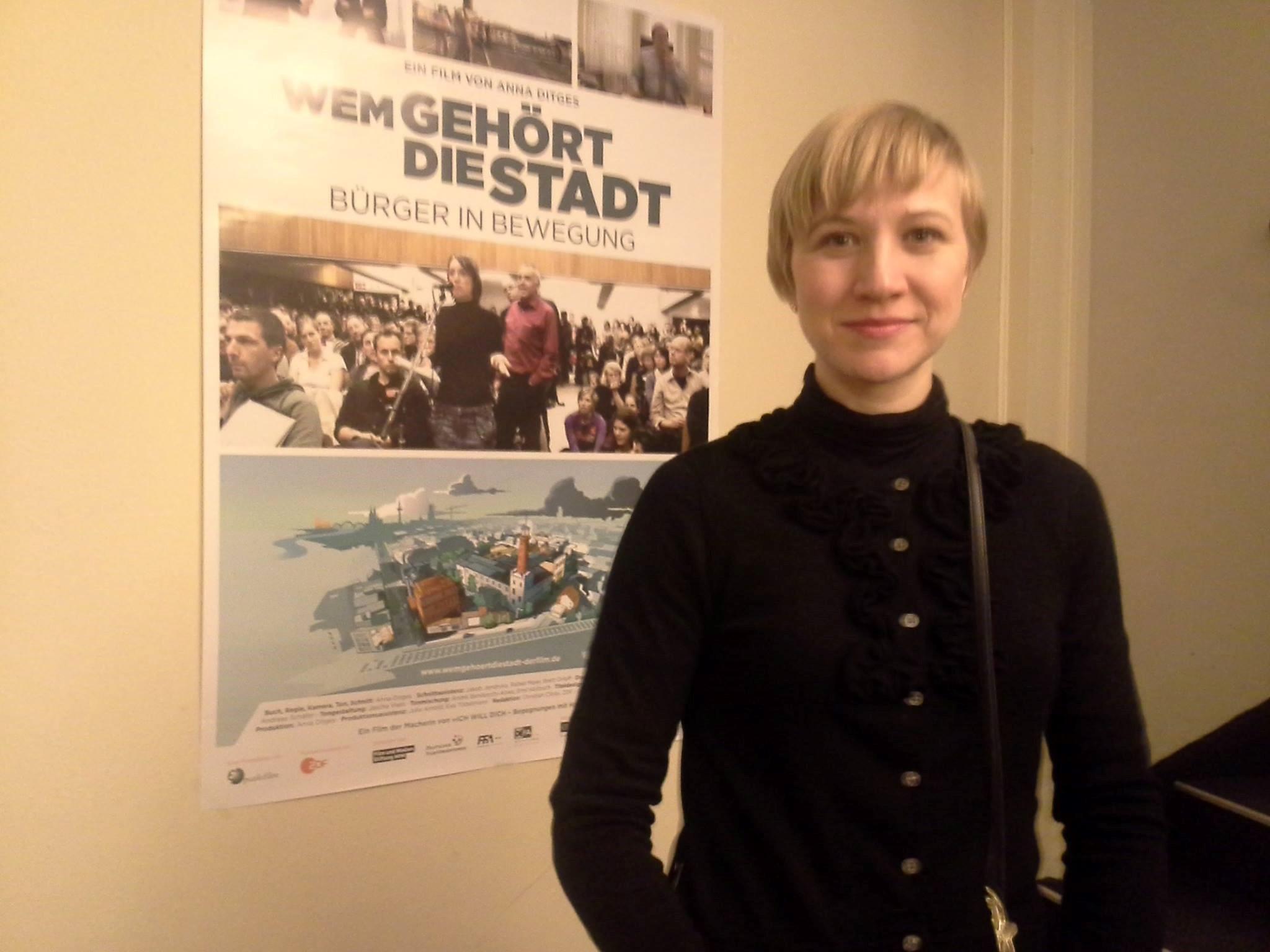 Zu Gast: Regisseurin Anna Ditges - WEM GEHÖRT DIE STADT?