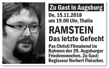 Zu Gast: Regisseur Norbert Fleischer.