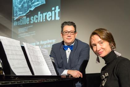 Foto 2 Die Stille schreit - Uraufführung mit vielen Gästen