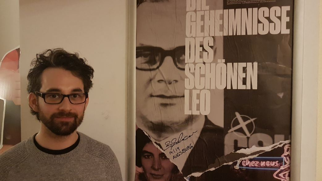Zu Gast: Regisseur  Benedikt Schwarzer.