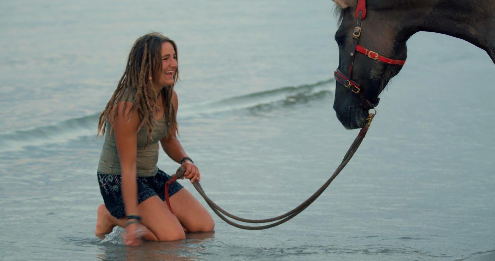 Zu Gast Protagonistin Simone Hage: Magie der Wildpferde
