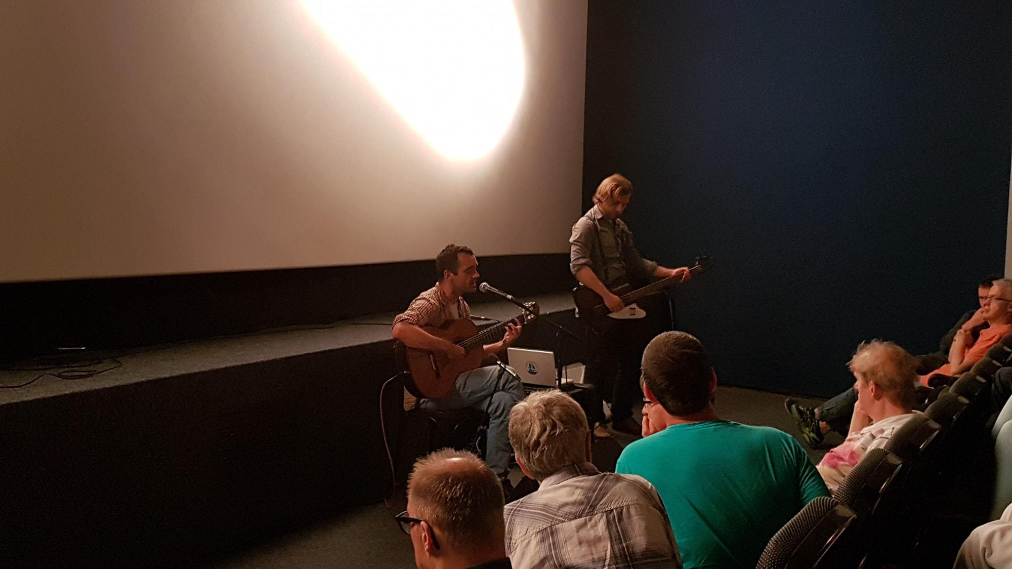Foto 2 Blown Away: Zu Gast: Hannes Koch  und Lincoln Davis.