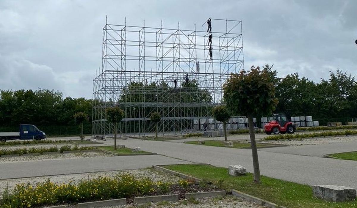 Foto 8 Aufbau MESSEFLIMMERN 2020: die ersten Bilder.
