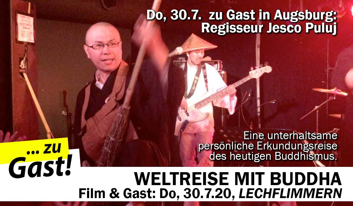WELTREISE MIT BUDDHA - mit Regisseur Jesco Puluj
