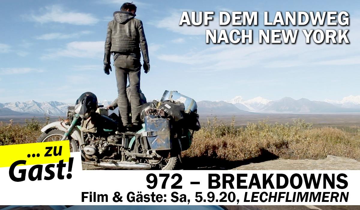 972 Breakdowns - zu Gast ist das Filmteam