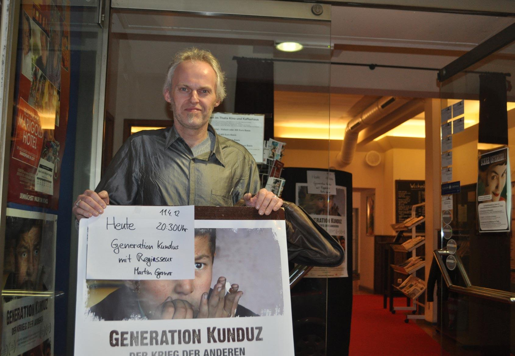 GENERATION KUNDUZ - Regisseur Martin Gerner zu Gast