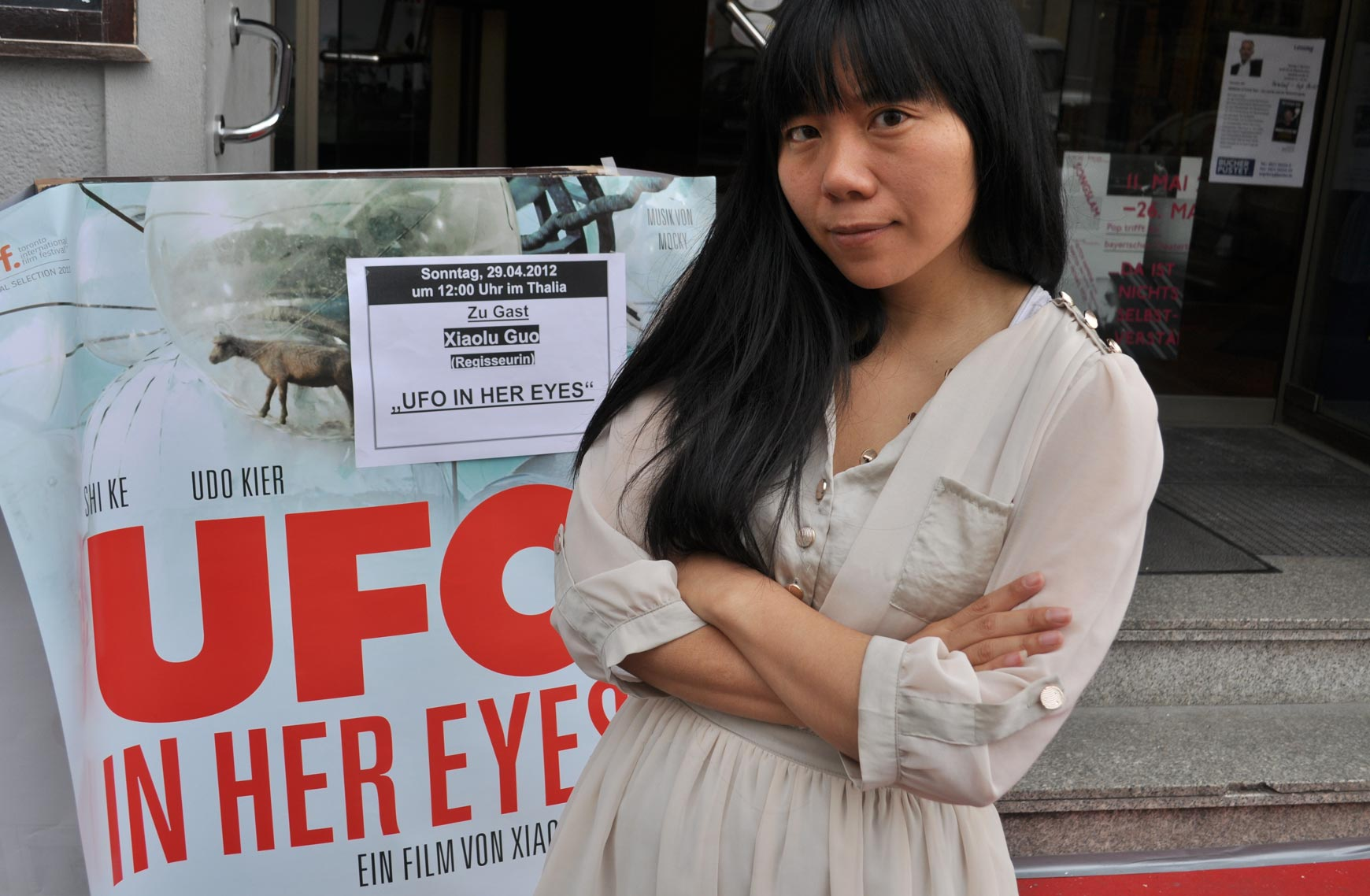 UFO IN HER EYES - Regisseurin Xiaolu Guo zu Gast