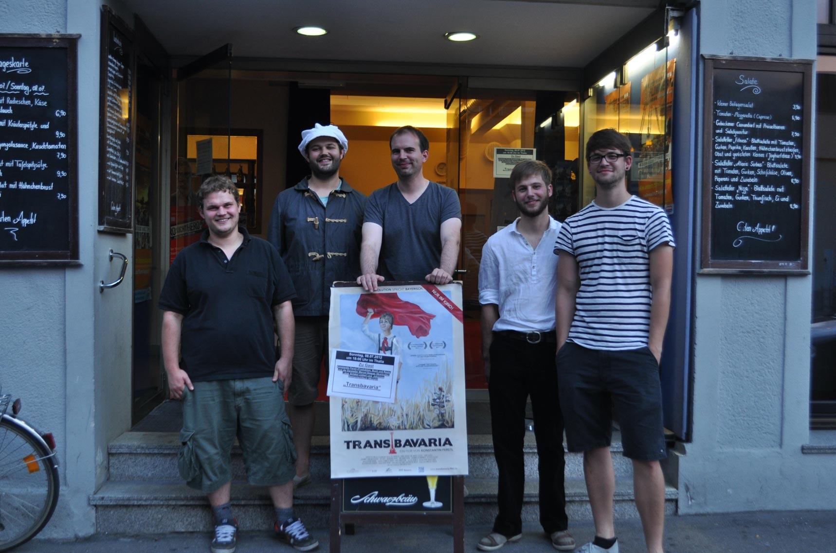 TRANSBAVARIA - Konstantin Ferstl und Team zu Gast