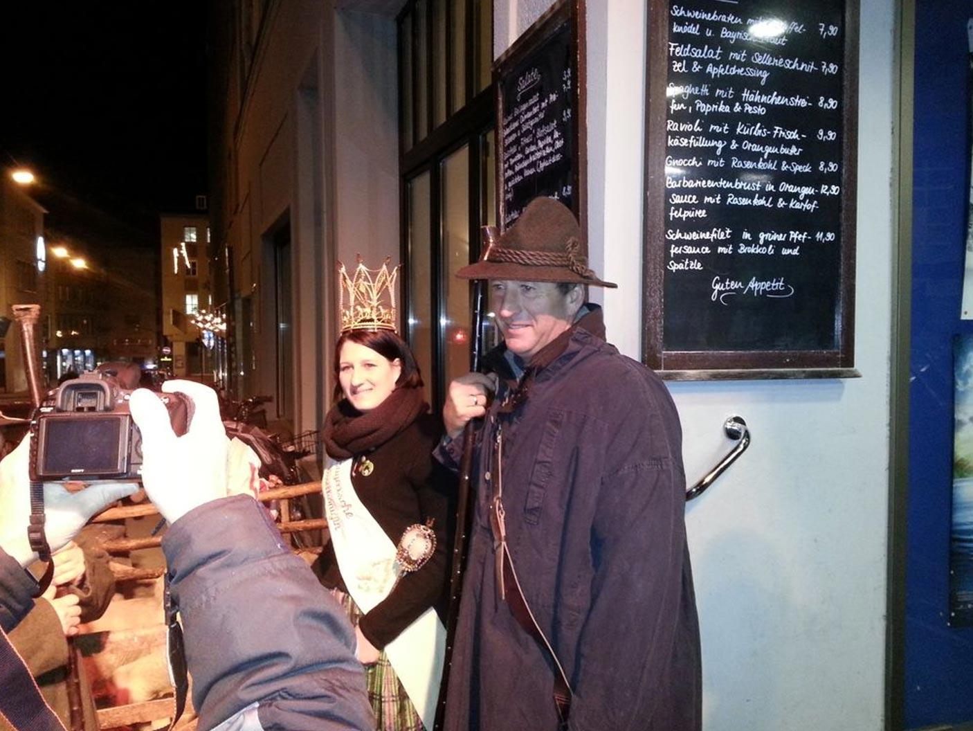 Foto 4 WINTERNOMADEN - Gast Regisseur Manuel von Stürler.