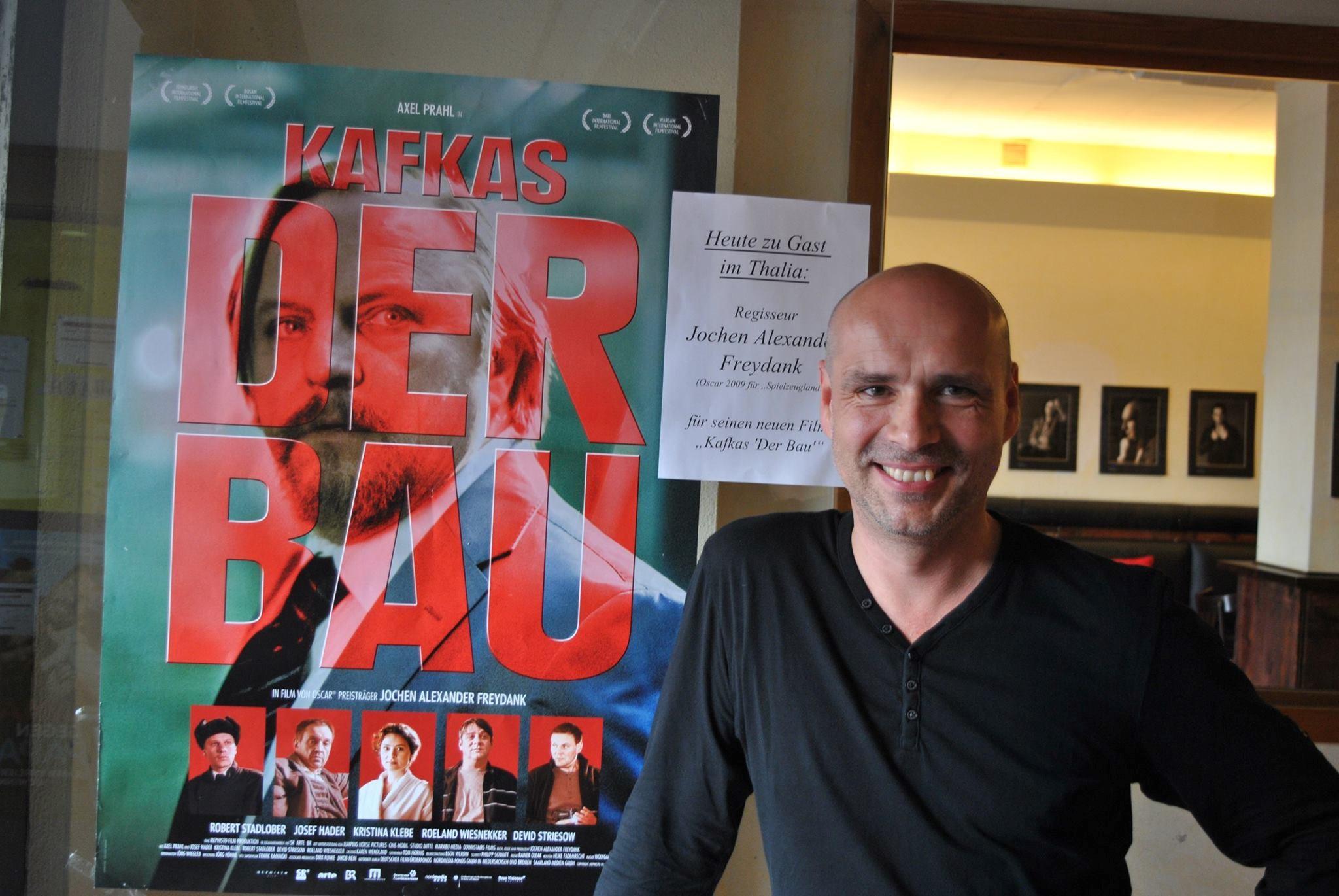Gast Regisseur Jochen Alexander Freydank: KAFKAS – DER BAU