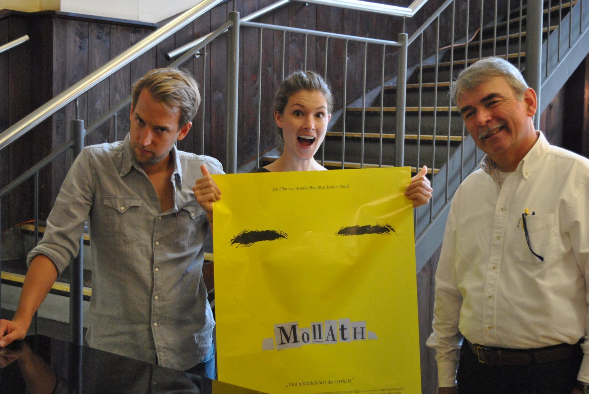 Foto 1 Gast: Gustl Mollath, Regisseurin Leonie Stade