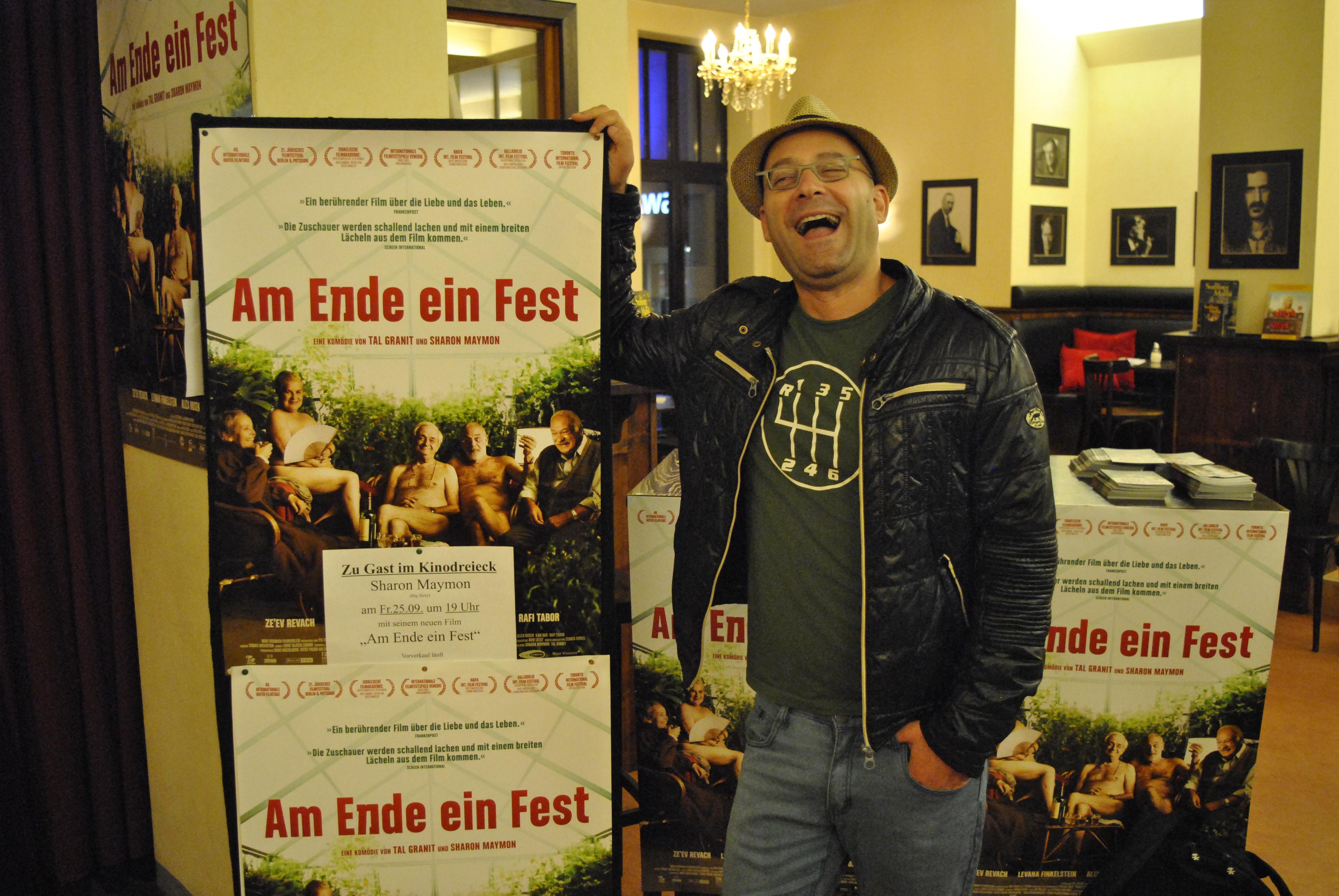 Zu Gast: Regisseur Sharon Maymon - AM ENDE EIN FEST
