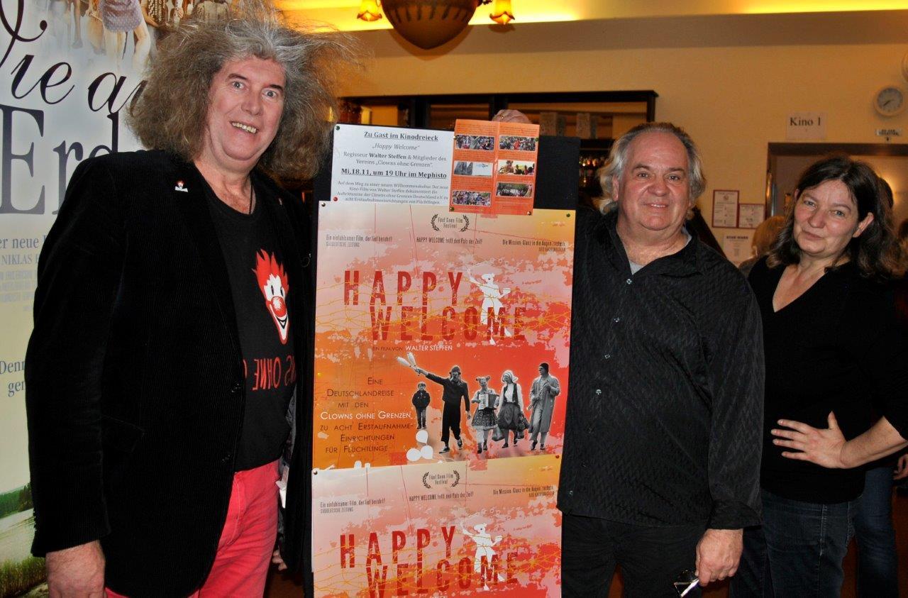 Gast : Regisseur  Walter Steffen und Stefan Mielke - HAPPY WELCOME