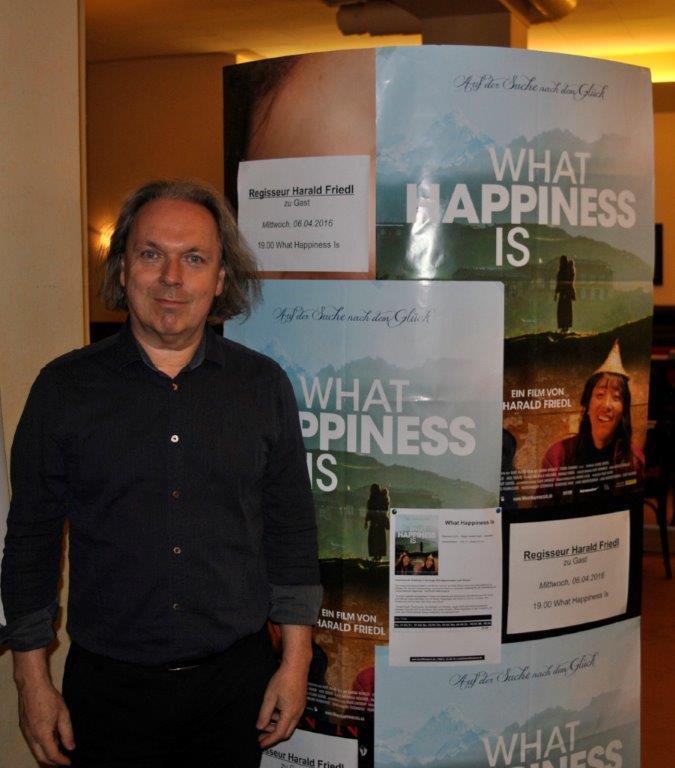 Zu Gast: Regisseur Harald Friedl